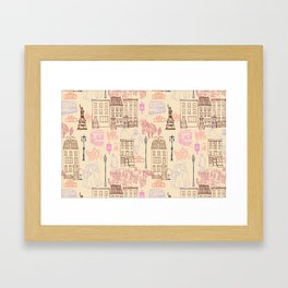 New York City 1900 Framed Art Print