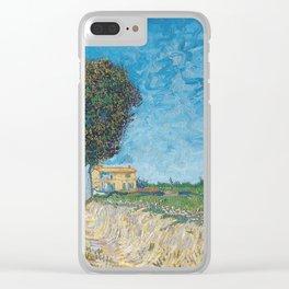 Vincent Van Gogh - Allee bei Arles Clear iPhone Case