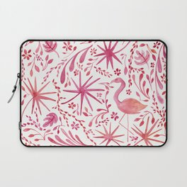 Flamingos at the Beach Laptop Sleeve