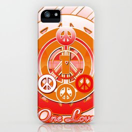 One Love (Dynasty) iPhone Case