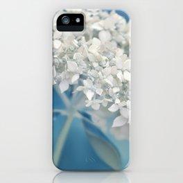 Beautiful White Hydrangea 276 iPhone Case