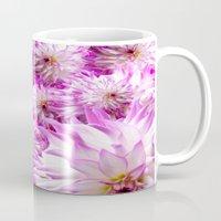 dahlia Mugs featuring Dahlia ## by the artist J©