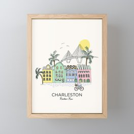 Charleston, S.C. Framed Mini Art Print