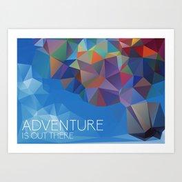 Up: Adventure  Art Print