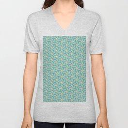 Original Handmade Pattern - Positive Vibe Unisex V-Neck