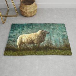 Vintage Sheep Rug