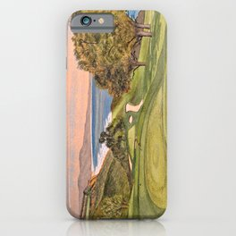 Torrey Pines South Golf Course Hole 6 iPhone Case