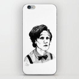 Matt Smith (Doctor Who) Etching iPhone Skin