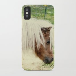 Pony iPhone Case