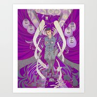 dishonored Art Prints featuring Void by Thor