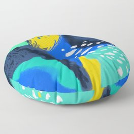 Ocean & Forest Floor Pillow