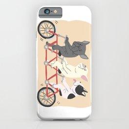tandem bike iPhone Case