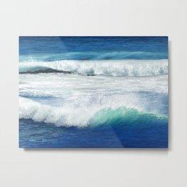 Ocean, Good Vibes Metal Print