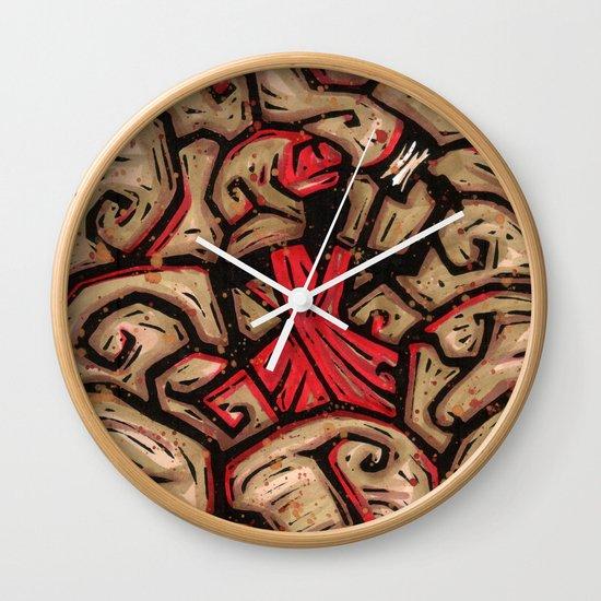 Orixás - Xango Wall Clock