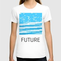 future T-shirts featuring Future by Blank & Vøid