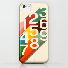 Retro Numbers Slim Case iPhone 5c