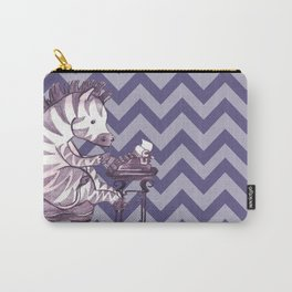 Typin' Stripes Carry-All Pouch