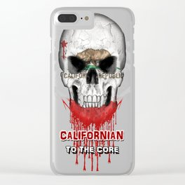 To The Core Collection: California Clear iPhone Case