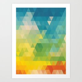 Colorful Day Art Print