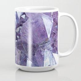 Amethyst Crystal Cluster Coffee Mug