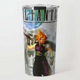 Cloud Strife Final Fantasy 7 Travel Mug