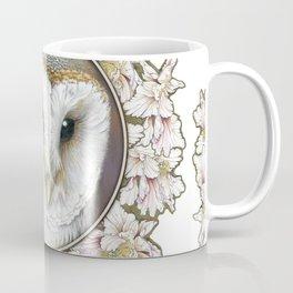 Barn owl small Coffee Mug