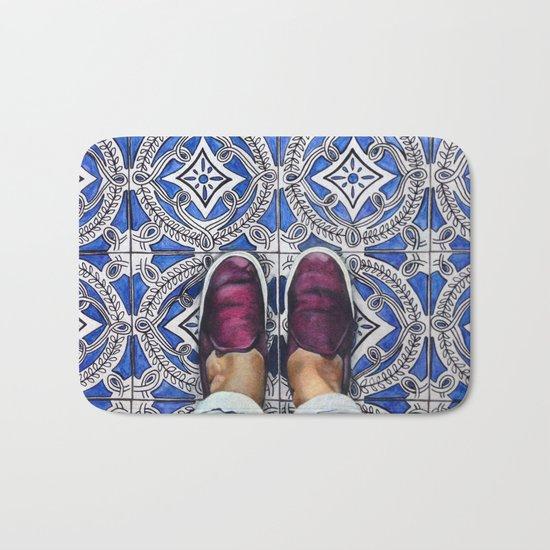 Art Beneath Our Feet - Ancona, Italy Bath Mat