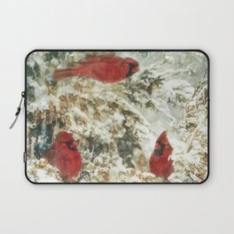 Cardinal Chat Laptop Sleeve
