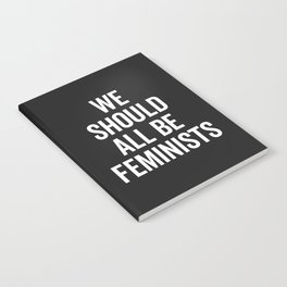 All Be Feminists Saying Notebook