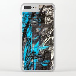 Areus, an abstract Clear iPhone Case