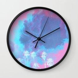 SUMMER WAVES II Wall Clock