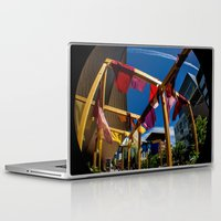 fabric Laptop & iPad Skins featuring Fabric by Michelle Chavez