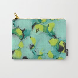 Marble green Carry-All Pouch