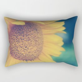 sunflower day Rectangular Pillow