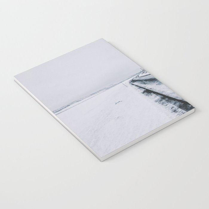 Icy Road Notebook