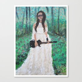 Music is my Muse Canvas Print