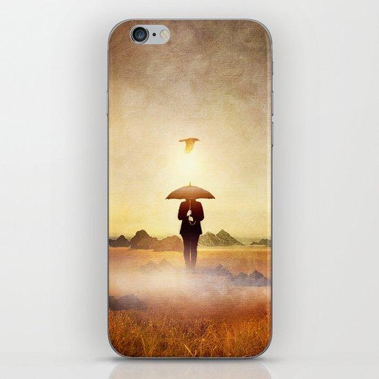 Waiting for the rain iPhone & iPod Skin