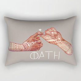 Oath Rectangular Pillow