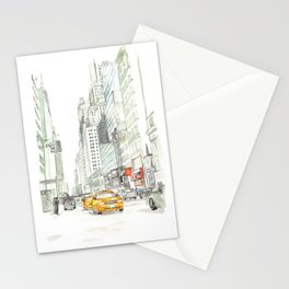 New York City Taxi Stationery Cards