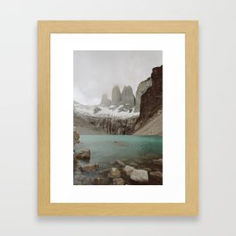 TORRES DEL PAINE II Framed Art Print