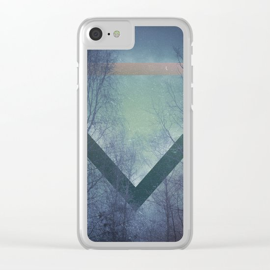 Pagan mornings Clear iPhone Case