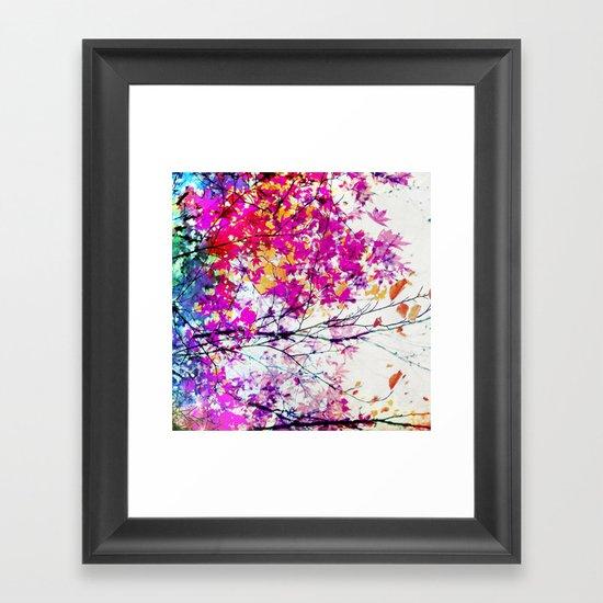 Autumn 5 X Framed Art Print