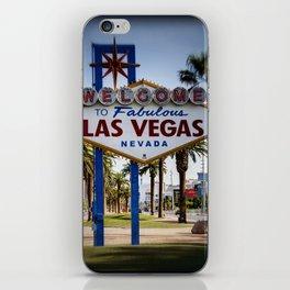 Welcome To Vegas Sign Series II iPhone Skin