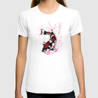 koi T-shirts featuring Koi by Puddingshades