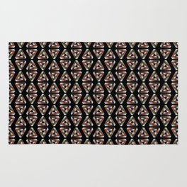 Impossible Triangle Pattern Rug