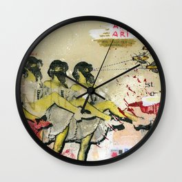 Killer bees Wall Clock