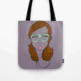Girls of Summer - Hipster Girl Tote Bag