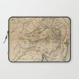 Map Of South Africa 1875 Laptop Sleeve