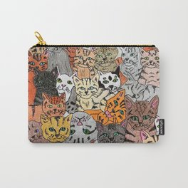 Cats, cats and more cats Carry-All Pouch