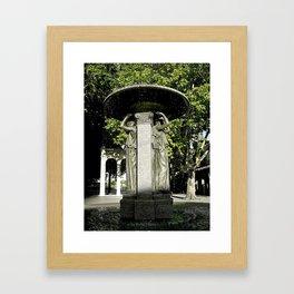 Skidmore Fountain Framed Art Print